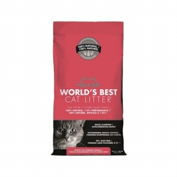 World's Best - Cat Litter rood - 3,18KG