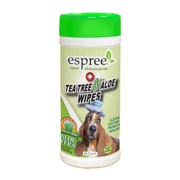 Tea Tree & Aloe wipes 50st. - Espree