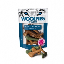 WOOLFIES Small Dental Fishbone for Dog - 200gr.